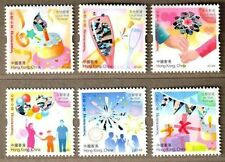 Hong Kong 2014 Heartwarming Special Stamps Hologram Flower Birthday Balloon
