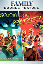 Scooby-Doo/Scooby-Doo 2: Monsters Unleas DVD***NEW***