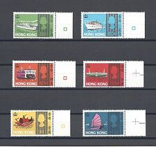 HONG KONG 1968 SG247/52 MNH Cat £48