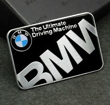 Metal Car Decals Badge Emblems Stickers for BMW The Ultimate Driving Machine MEW
