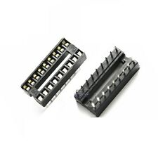 10PCS 18-Pin DIL DIP IC Socket PCB Mount Connector NEW