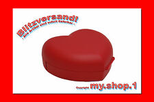 ★★★my.shop.1-1★★★ Tupperware® Herz-Brotdose Lunch-Box in ROT Herzlich NEU+OVP