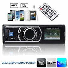 Auto Stereo Audio In-Dash FM Car Aux Input Receiver SD USB MP3 WMA Radio Player