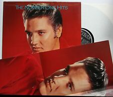 Elvis Presley The Number One Hits 1987 LP + Rare Poster
