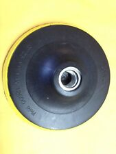 """Velcro Backing pad polishing Pad for Angle Grinders with Standard 5/8"""" Thread"""