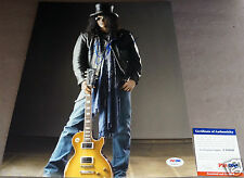 SLASH Signed 11x14 Photo Iconic Auto PSA/DNA Certified Autograph Guns N' Roses