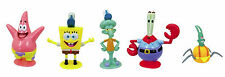 SpongeBob Squarepants Set Of  5 Figures Squidward Patrick Mr Crab