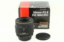 (2624) Excellent Condition SIGMA AF 50mm F2.8 MACRO for Pentax from Japan