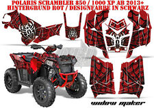 AMR Racing DECORO GRAPHIC KIT ATV POLARIS interferenzaNverso/Trailblazer Widow Maker B