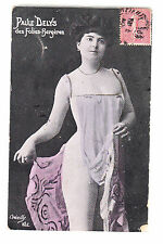 CPA ART PHOTO SEXY  -  NUE NUDE DANSEUSE PAULE DELYS FOLIES BERGERES PARIS ~B22