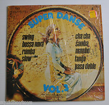 SUPER DANCE / DANSE Vol.3 LP Record Sexy Record Cover