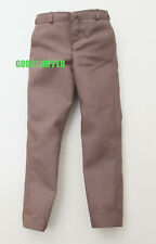 HOT TOYS 2012 THE AVENGERS HULK DR. BRUCE BANNER 1/6 FORMAL BROWN PANTS TROUSERS