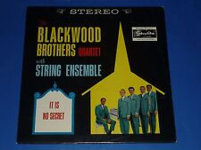 "THE BLACKWOOD BROTHERS QUARTET - ""IT IS NO SECRET""- RECORD ALBUM LP - 1A/1A"