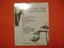 Instructor Resource DVD with TestGen for Campbell Essential Biology 4E Test Bank