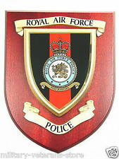 RAF ROYAL AIR FORCE POLICE CLASSIC REGIMENTAL STYLE HAND MADE MESS PLAQUE