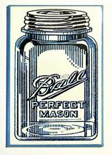 "Vintage PERFECT MASON JAR  2"" x 3"" Fridge MAGNET Canning Can"