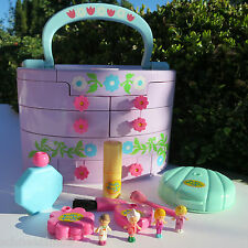 Mini Polly Pocket Jewelry Box 100%complete Lipstick Pull Out Playhouse Variation