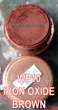 WP10 DAVART DAVE'S WEATHERING POWDERS ALL NATURAL PIGMENT IRON OXIDE BROWN