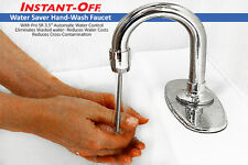 INSTANT-OFF Automatic Faucet Model 100 Water Saving Chrome Tap Diffuser Aerator