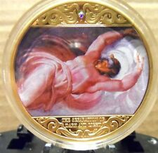 """COMMEMORATIVE PIECE, """"NARRATIVES OF THE SISTINE CHAPEL"""": MADE BY THE AMERICAN MI"""
