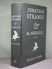 1st,signed by author,Jonathan Strange & Mr Norrell by Susanna Clarke (2004)black