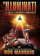 THE ILLUMINATI IS FULFILLING BIBLE PROPHECY by Doc Marquis. Set of 2 DVDs. *NEW*