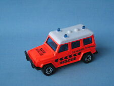 Matchbox Mercedes-Benz 280GE 24 Hours Towing Rescue Neon Body Toy Model Car UB