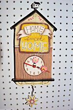 Michelle Allen Designs Home Clock Home Sweet Home Whimsical ships in 24 hours
