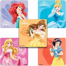 Disney Princess Stickers x 10 - Party Favours - Belle/Ariel/Aurora - Loot Bags