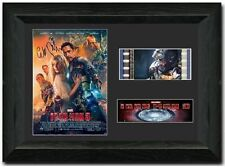 Iron Man 3 35 mm Framed Film Cell Display signed Comic Con Fan Art Robert Downey