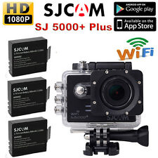 SJCAM SJ5000+ Plus Ambarella A7LS75 1080P  WiFi Sports Action Camera+2 Batteries