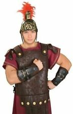 Roman Soldier Arm Guards Centurion Costume Caesar Nativity Legionnaire