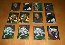 12 ASSORTED 1995 FLEER ULTRA SPIDERMAN INSERT CARDS