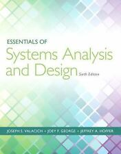 NEW Essentials of Systems Analysis and Design (6th Edition) (Global Edition)