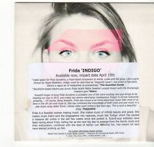 (EZ538) Frida, Indigo - 2013 DJ CD