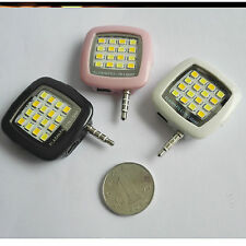 Mini Portable Camera Flash/Fill-in Lamp 16 LED Photo Video Light for Cell Phones