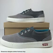 LEVIS TRAINERS MENS SUEDE COMMUTER SNEAKER 2013 COLLECTION SHOE UK 7.5 RRP £65
