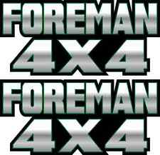 Foreman 4x4 Green Gas Tank Graphic TRX 450 400 500 Decal Sticker Atv Quad Fender