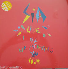 RSD 2016 Sia Live (The We Meaning You Tour) double Yellow vinyl 33 rpm