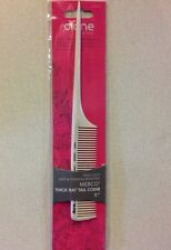 "DIANE FROMM HEAT THERMAL  & CHEMICAL RESISTANT 9"" THICK RAT TAIL COMB WHITE"