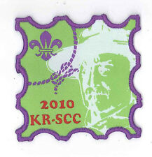 SCOUTS OF HONG KONG - World Scout Founder LORD BADEN POWELL of Gilwell Patch B