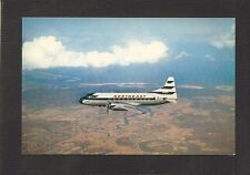 POSTCARD:  NORTHEAST AIRLINES CONVAIR PROPELLOR-DRIVEN AIRLINER - 1950s, Unused