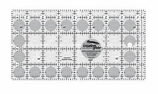 """Creative Grids 4 1/2"""" x 8 1/2"""" Rectangle Sewing and Quilting Ruler"""