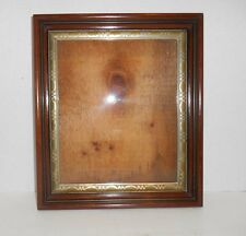 Antique Picture Frame Walnut Deep Shadow Box Style Gold Silver Gilt
