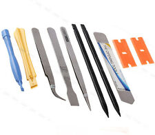 10 in 1 Mobile Phone Repair Opening Pry Tools Set Spudger Tweezer iSesamo Kit