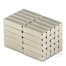 Lot 20pcs Strong N50 Block Bar Magnets 20 x 5 x 5mm Cuboid Rare Earth Neodymium