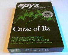 Atari XL : Dunjonquest: Curse of Ra - Epyx 1982  - Kasseten Version