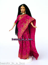 India Indian Barbie Princess Dolls of the World Just Deboxed Barbie Doll NO BOX