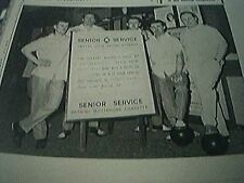 magazine item 1965 - football ten pin bowling team sandy kennon norwich