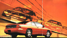 1998 Chevy MONTE CARLO Brochure / Catalog with Color Chart: LS,Z34,